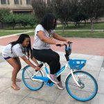 Sasha Learning to Ride a Bike